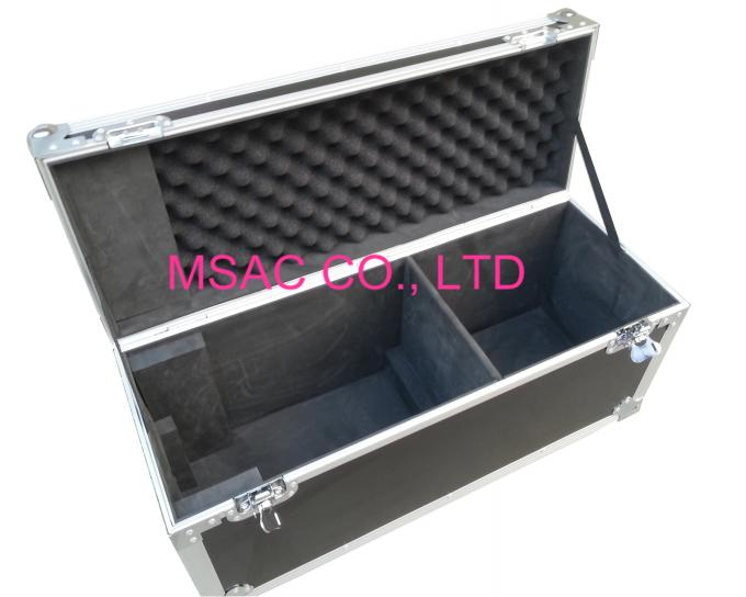 Black Custom Aluminum Flight Cases / Equipment Carrying Case for Carry Tool