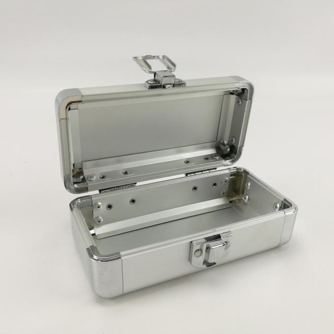 Small Empty Aluminum Hard Case For Carry Tool Instruments