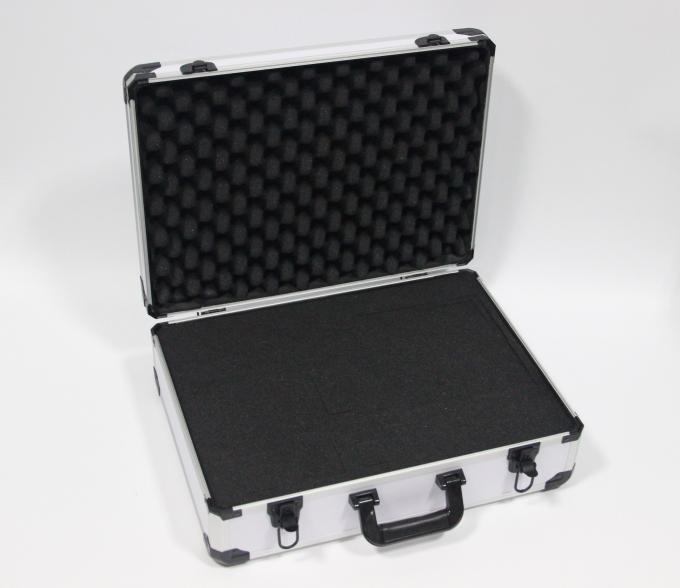 White Carrying Aluminum Storage Case , Small Aluminum Case 460 X 335 X 120mm