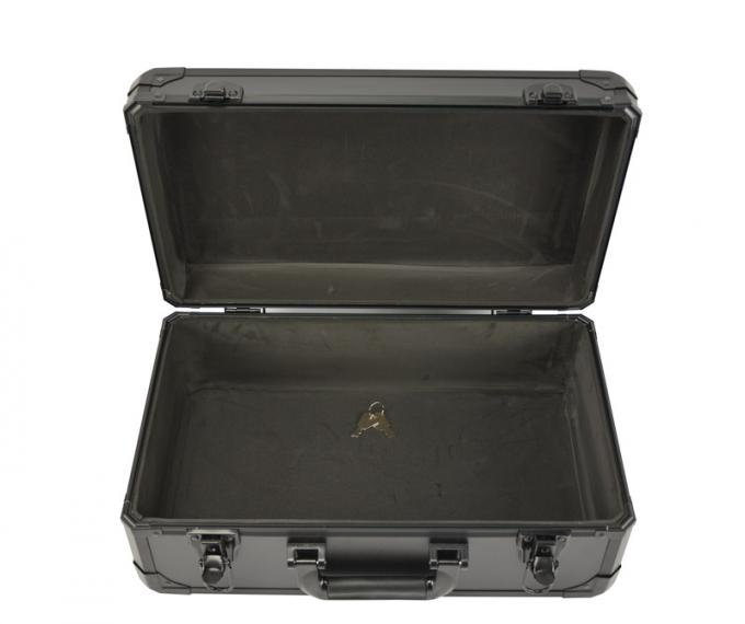 18 inch x 12 inch x 6 inch Protable Black Aluminum Tool Carrying Case @ MSAC CO.,LTD