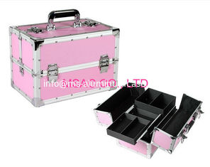 China Beauty Boxes/ABS Beauty Cases/ Hair Dressing Cases /Pink Beauty Cases/Makeup Cases supplier
