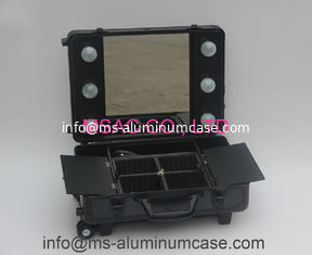 China Aluminum Makeup Cases With Light/Aluminum Trolley Cases with Light/Light Cases supplier