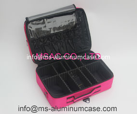 China Professional Pink Beauty Bag For Carry Tools supplier