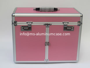 China Pink Aluminum Hair Dressing Cases 2016 Brand New supplier
