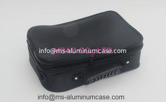 China Fabric / Aluminium Beauty Case / Professional Makeup Bag For Carry Tools supplier