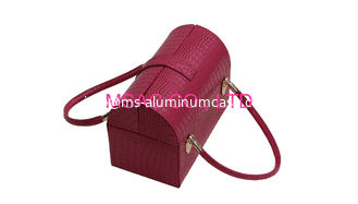 China 2015 Hot Sale Red Leather Beauty Case supplier