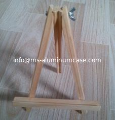 China Logo Acceptable Case Accessories Easel Samples / Display Easel / Wooden Easel supplier