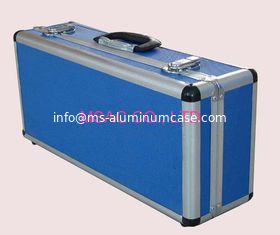 China Aluminum Cases/Aluminum Carry cases/Carrying Cases/Blue Diamond ABS Cases/ABS Cases supplier