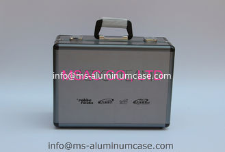 China Easy Cleaning Aluminum Hard Case With Foam Insert Black Fireproof Panel Wear Resistant supplier