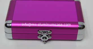 China Anodize Pink Small Aluminum Case supplier