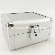 China Middle Aluminium Storage Box 90 Degree Open , Aluminum Tool Case With Foam supplier