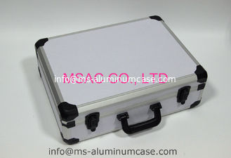 China White Carrying Aluminum Storage Case , Small Aluminum Case 460 X 335 X 120mm supplier
