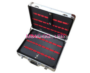 China Lockable Aluminium Case 3.5 Kgs , Portable Custom Aluminum Briefcase supplier