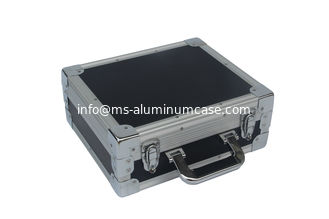 China Hardware Aluminum Tool Case EVA Lining 4 Mm Thickness MDF 240 * 200 * 80mm supplier