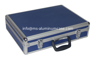 China Blue Aaluminum Hard Case Wear Resistant , Light Weight Aluminum Carrying Case supplier