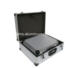 China Two Sets Aluminum Equipment Cases With Plastic Corner And Metail Handle supplier