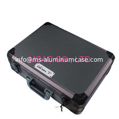 China Gray Lockable Aluminum Tool Case ABS With Aluminum Frame L 450 X W 330 X H 145mm supplier