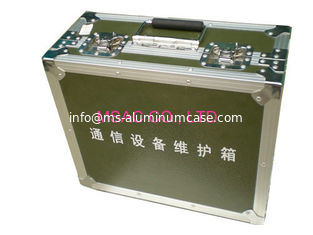 China Equipment Aluminum Carrying Case Wear Resistant 5 MDF With Green Fireproof Panel supplier
