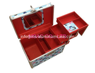 China Beauty Boxes/ Hair Dressing Cases /Disney Beauty Cases/Makeup Cases/PVC Beauty Boxes supplier