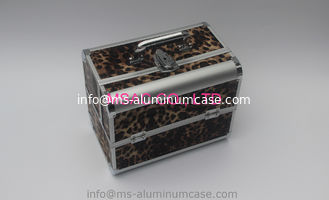 China Durable Aluminium Beauty Case 4mm MDF With PVC Panel Wear Resistant supplier