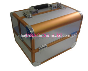 China Aluminum Cosmetic Cases/Cosmetic Cases/ Cosmetic Train Cases/Makeup Cases/Beauty Cases supplier