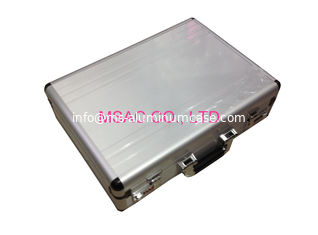 China Waterproof Small Aluminium Briefcase , Men Black Aluminum Briefcase Light Weight supplier