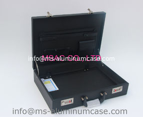 China Light Weight Aluminum Attache Case Fireproof For Carry Laptop Document supplier