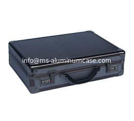 China Multi - Purpose  Black Aluminium Briefcase , Pilot Aluminum Attache Briefcase supplier