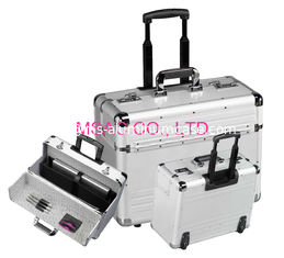 China Light Weight Aluminum Attache Case Lockable 5 kgs Wear Resistant For Travel supplier
