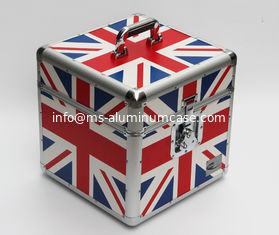 China Durable Aluminum DVD Storage Case Light Weight supplier