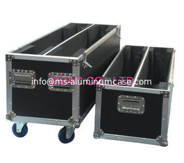 China Durable Metal Flight Case , Aluminum Tool Case For Protect Instruments supplier