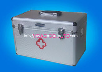 China Home Health Care Aluminium First Aid Box MS-FSA-15 For Home / Outdoors supplier