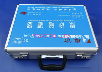 China MS-FA-98 Aluminium First Aid Box / Doctor Carry Cases For Packing Medical Tools supplier