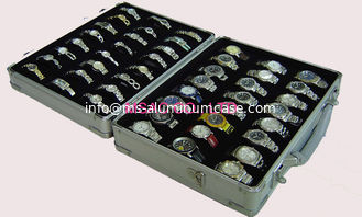 China Professional Aluminum Watch Case L420 X W240 X H120mm Size For Protect Watches supplier