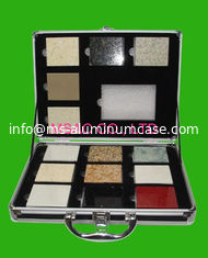 China Popular Aluminum Display Box / Marble Display Case For Packing Stones supplier
