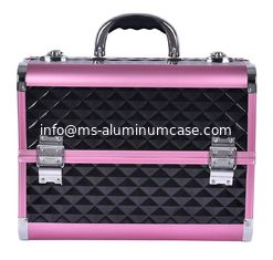 China Customized Professional Middle Size Aluminium Beauty Case Multi Color Waterproof supplier