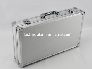 China Light Weight Aluminum Hard Case With Sharp Corner Design Size 300 * 180 * 80mm supplier