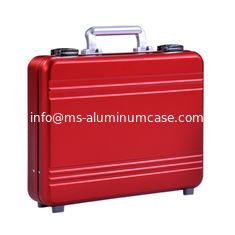 China MS-M-02 Aluminum updated alloy briefcase with silver, black, pink color for sale supplier