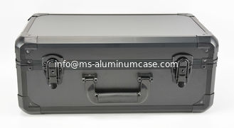 China 18 inch x 12 inch x 6 inch Protable Black Aluminum Tool Carrying Case @ MSAC CO.,LTD supplier