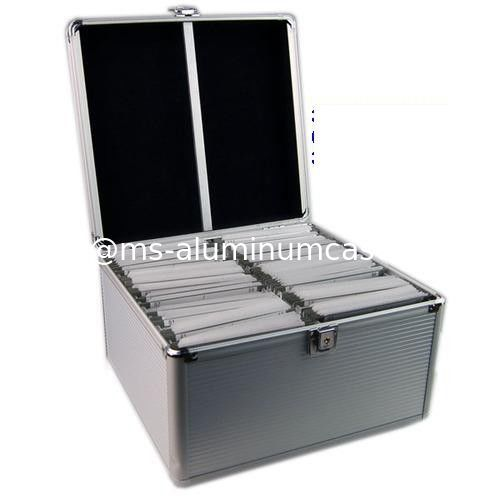 Aluminum Storage Cases/DVD Carrying Cases/DVD Boxes/300 CD Cases/200 CD  Cases