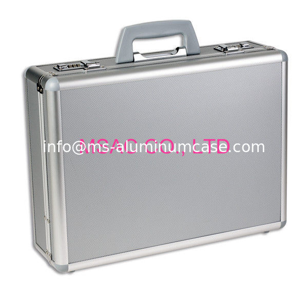 Aluminum Briefcase Metal Attache Cases for men Tool Locks Portable Carrying Case
