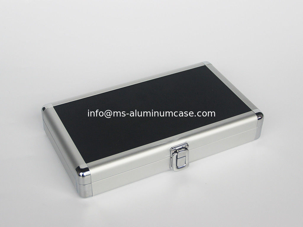Silver Small Aluminum Hard Case With 180 Degree Open Easy Transport supplier