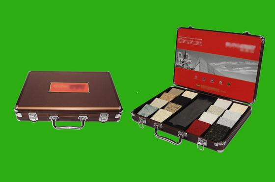 Aluminum stone case/stone sample case