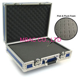 Aluminum tool case/pick and pluck foam case/aluminum case