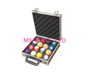 Aluminum Ball Cases/Aluminum Snooker Cases/American Pool Cases/ English Pool Cases