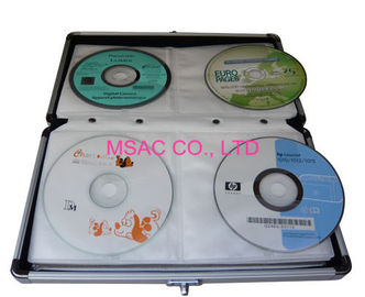 Aluminum Storage Cases/CD Carry cases/DVD Carrying Cases/CD Boxes/DVD Boxes