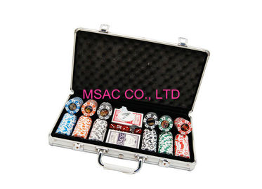 Aluminum Chip Cases/Chip Carry cases/Counter Carrying Cases/300 pcs Chip Cases