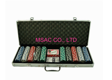 Aluminum Chip Cases/Chip Carry cases/Counter Carrying Cases/500 pcs Chip Cases/Chip Boxes