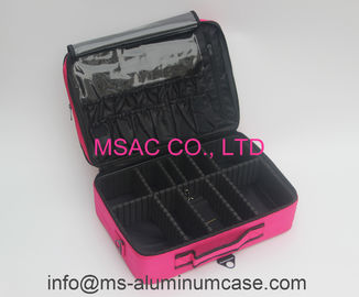 Professional Pink Beauty Bag For Carry Tools