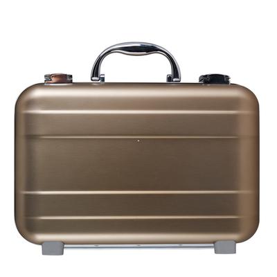 Rose Golden Aluminum Alloy Attache Case With Size 300x200x90mm